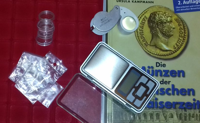 5 items essential to the collection of coins