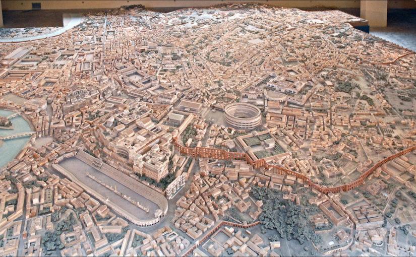 5 villes romaines connues