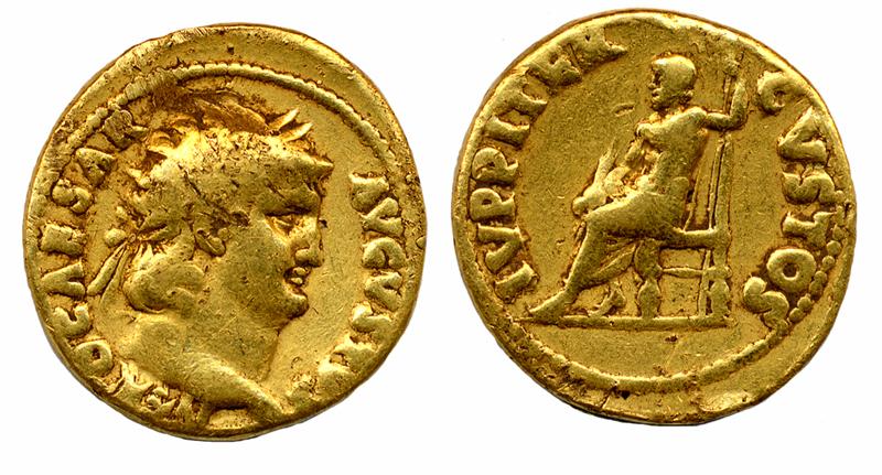 5 monnaies romaines en or (n°2)