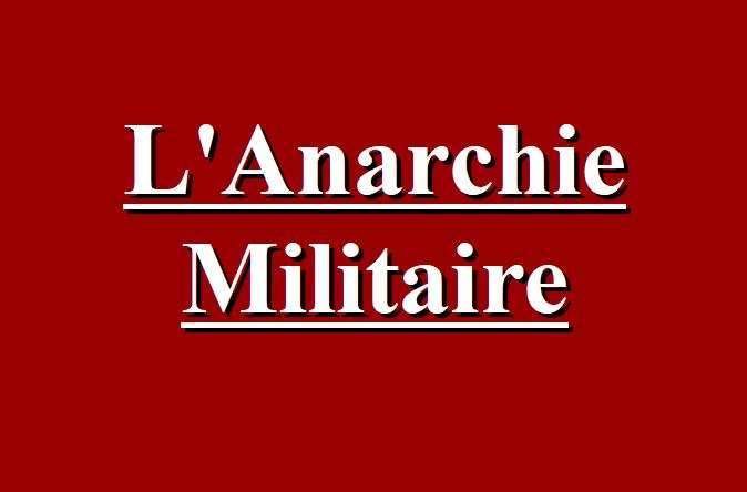 Anarchie Militaire