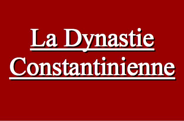 dynastie constantinienne