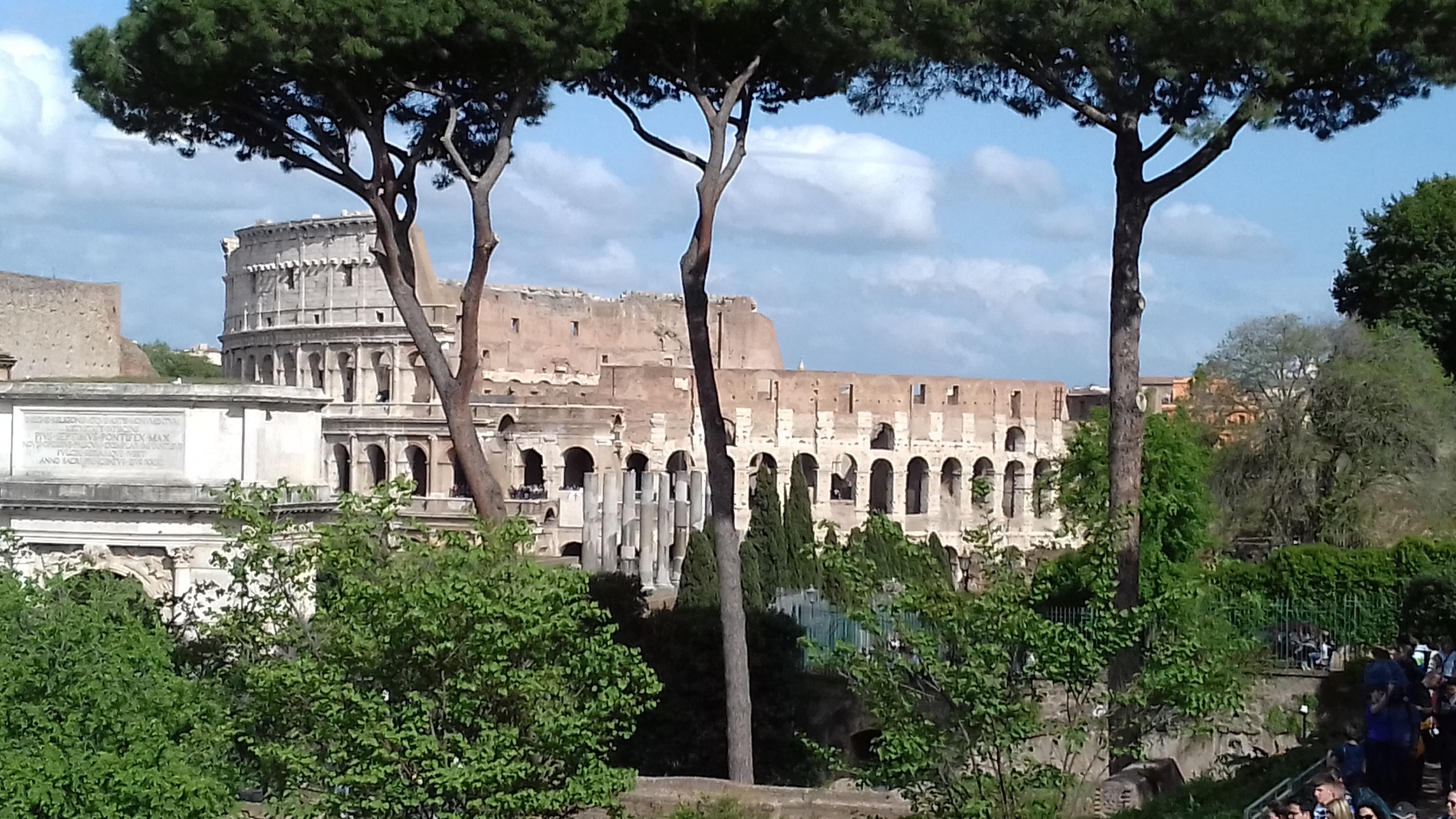 Mon voyage à Rome