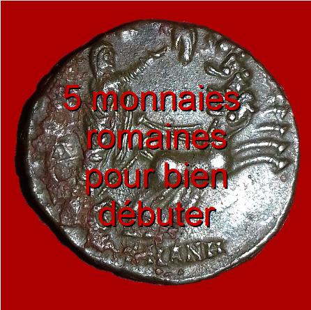 5 monnaies romaines pour bien débuter